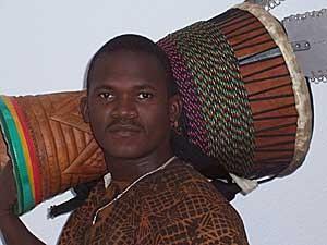 Billy Konaté aus Conagry / Guinea