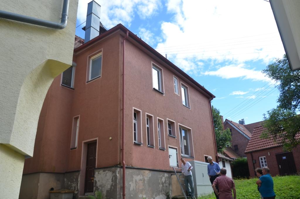 Schlüsselübergabe Altes Rathaus Breuningsweiler - wie schaut's aus, drinnen und heraußen