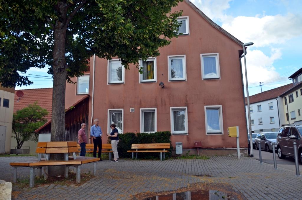 """Schlüsselübergabe Altes Rathaus Breuningsweiler - es ist jetzt """"unser"""" Altes Rathaus"""