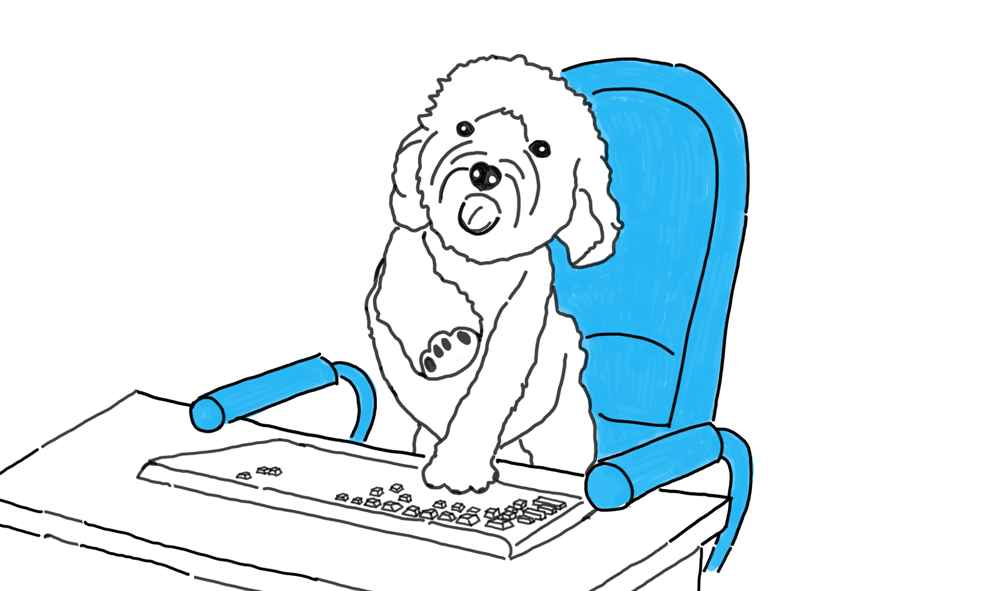 My Office Dog 2021 · Am Ziel
