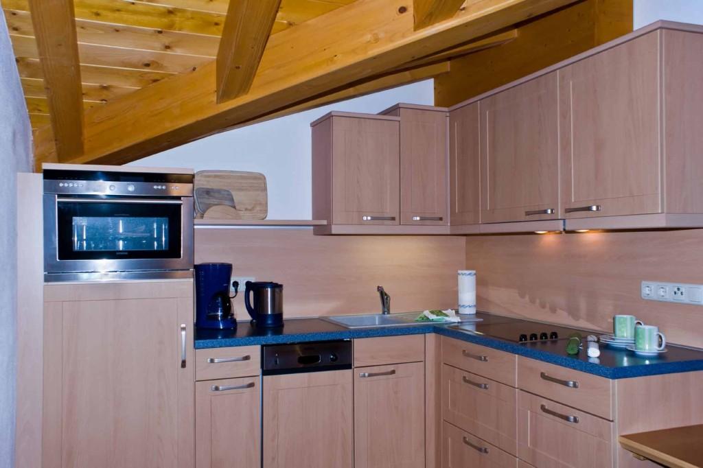 Küchenzeile - Ferienwohnung 6 - Hilbrand Appartements
