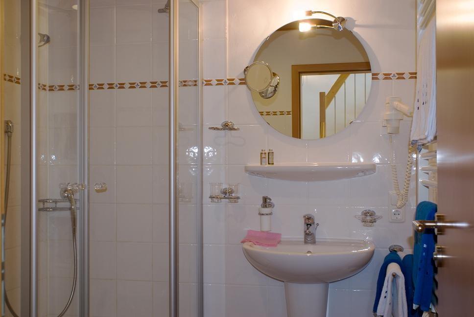 Badezimmer  Ferienwohnung 2 - Hilbrand Appartements