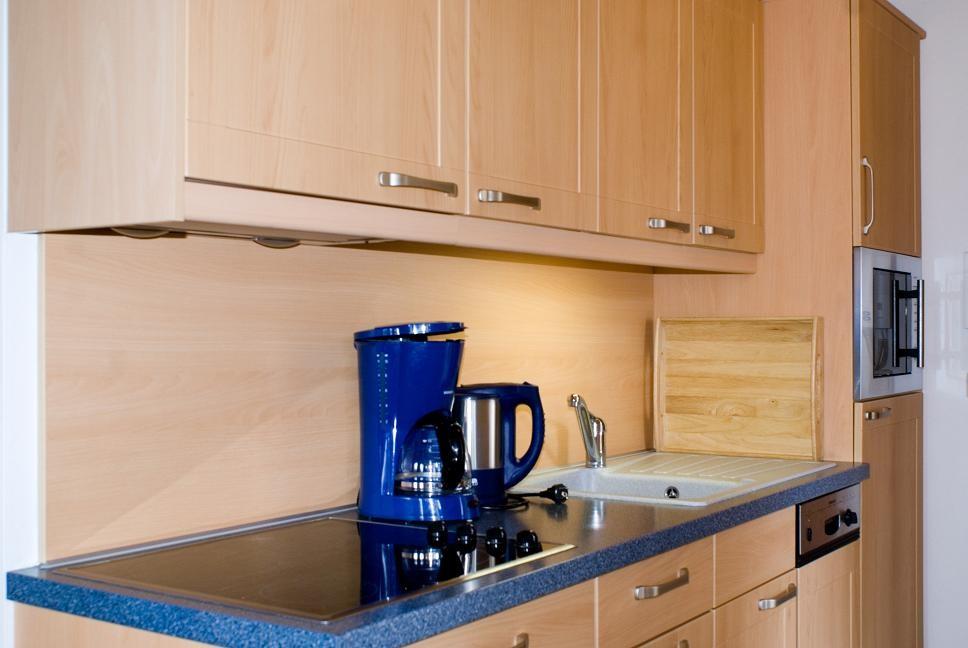 Küchenzeile - Ferienwohnung 4 - Hilbrand Appartements