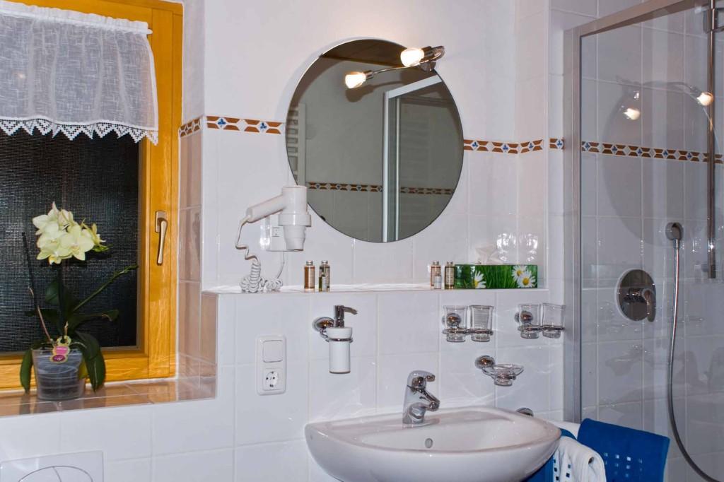 Nasszelle - Ferienwohnung 6 - Hilbrand Appartements