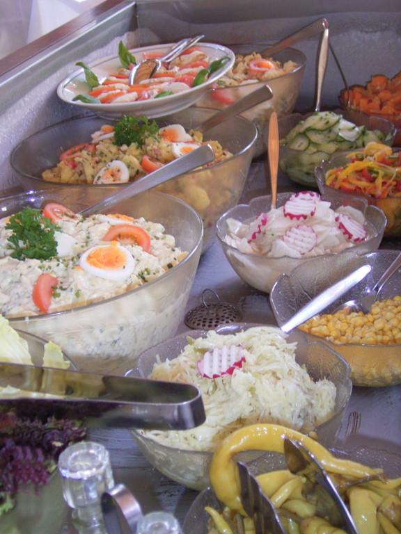 Das Salatbuffet