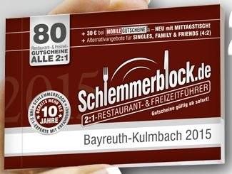 Angebot ab sofort bis einschließlich 1.Dezember 2015 auch bei uns im Gasthof Entenmühle gültig. Holen Sie sich bei uns den Schlemmerblock für 29,90 € 2 Hauptgerichte zum Preis von 1 (günstigere oder wertgleiche ist gratis).