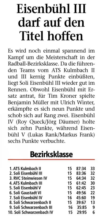 Frankenpost 15.04.2014