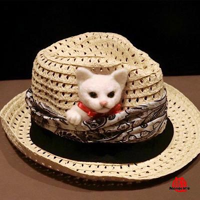 【ポケットにゃんこ】猫のブローチです。