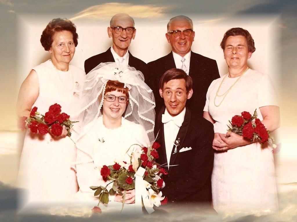 1971 - Hochzeit Horst Walkowiak + Ingrid Berger