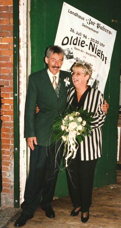 1996 - Silberhochzeit Horst + Ingrid Walkowiak