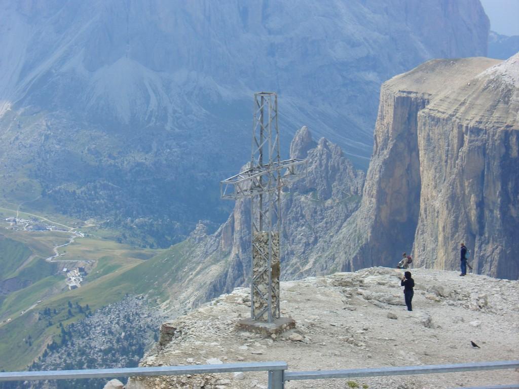 Dolomiten / Rundblick vom Passo Pordoi