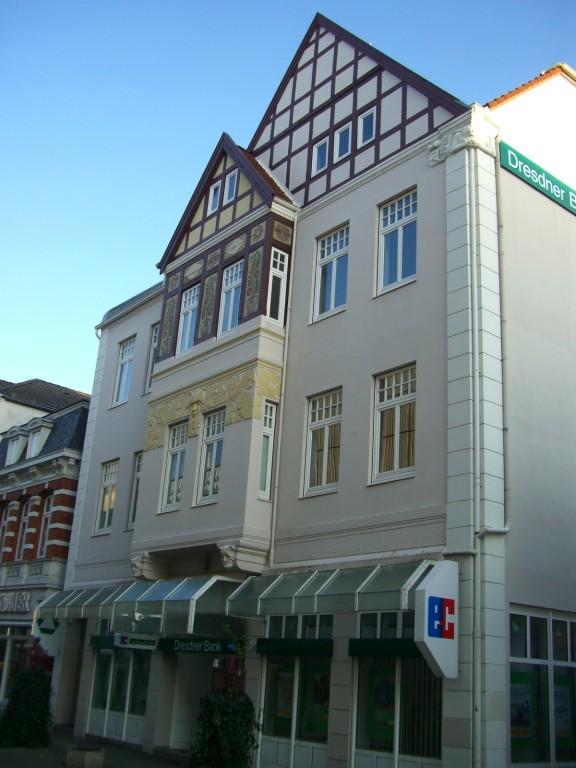 Östliche Lange Straße - früher Kaufhaus Wahn (Fahrräder, Kinderwagen, Bettenhaus)