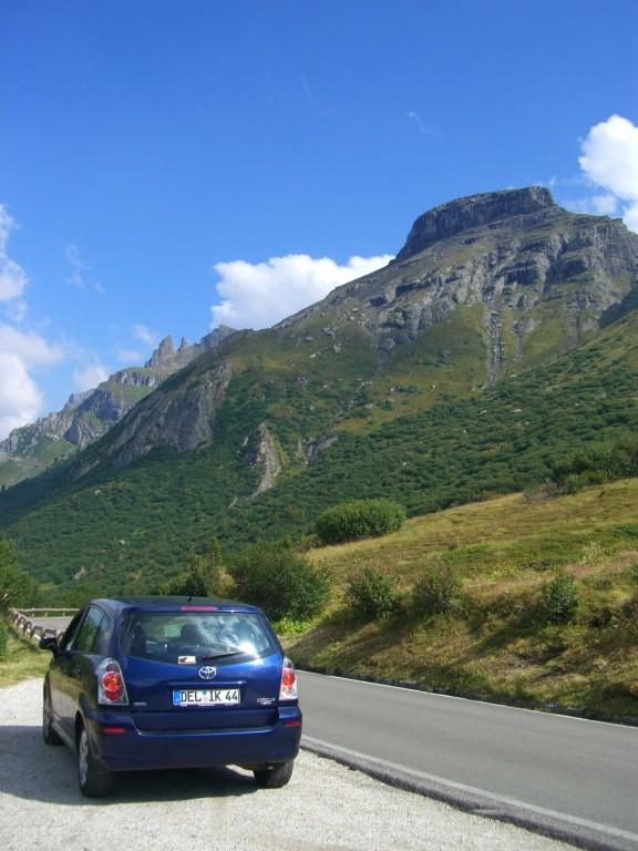 Dolomiten / Weiterfahrt Richtung Grödnertal