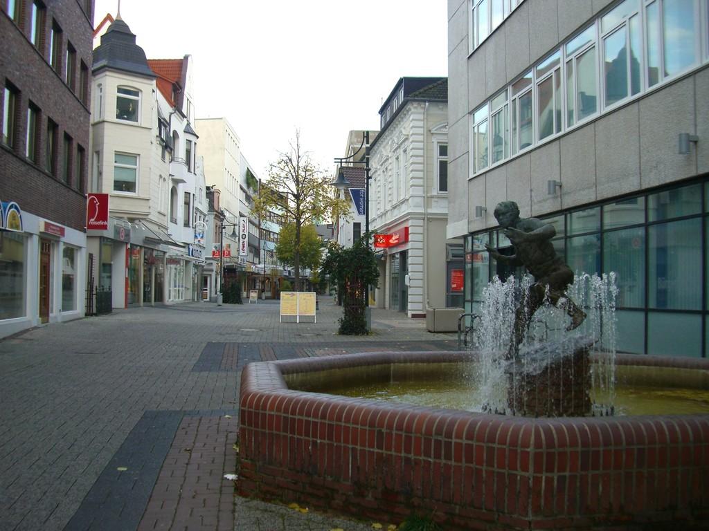 Westliche Lange Straße / Ende am Citycenter
