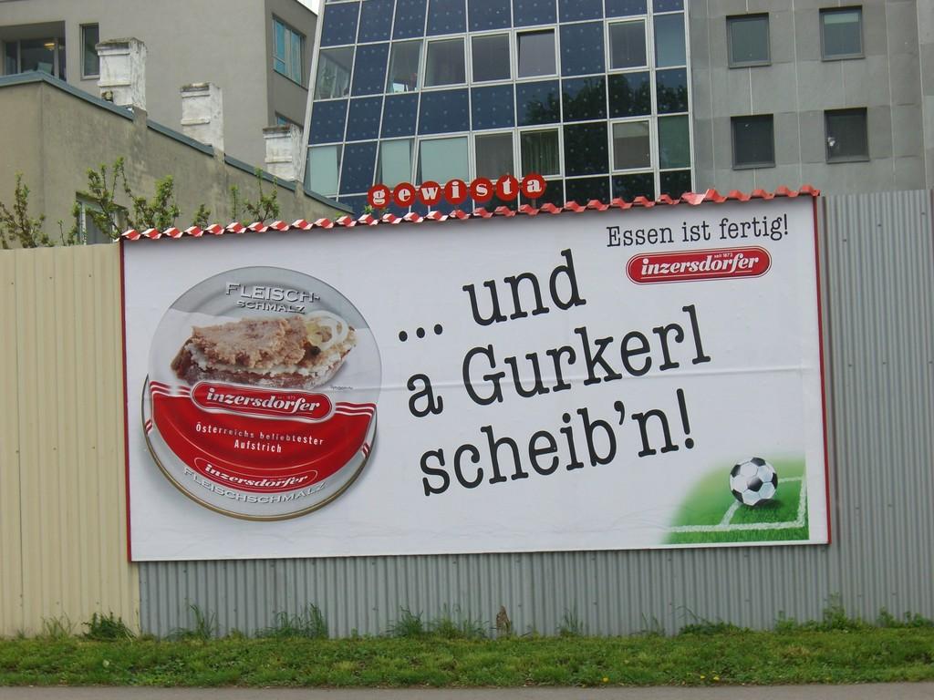 Wien - Straßenplakat