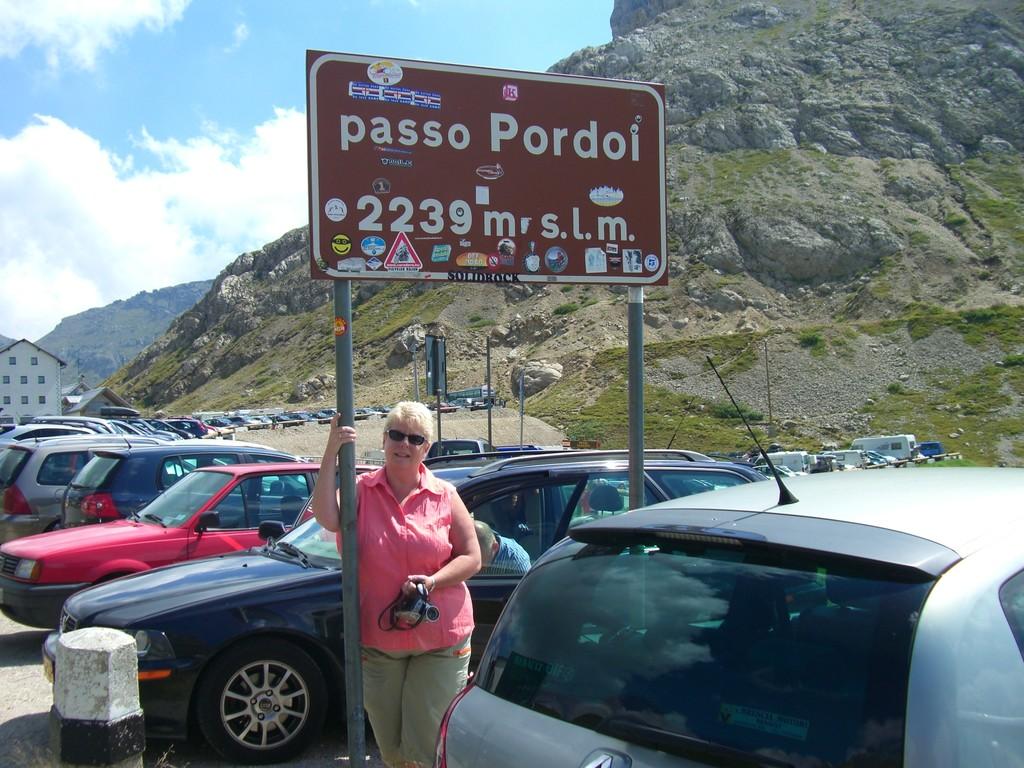 Dolomiten / Passo Pordoi
