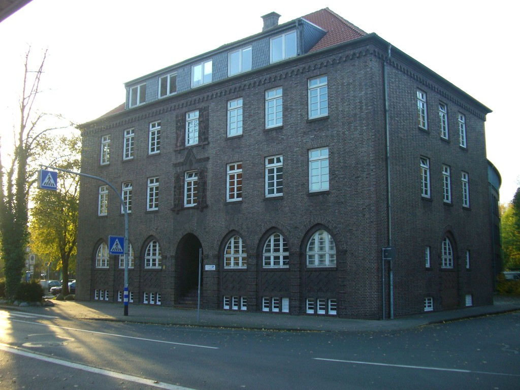 Am Markt / Rückseite - Altes Polizeigebäude