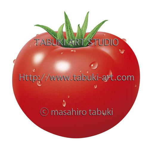 3007トマト水滴