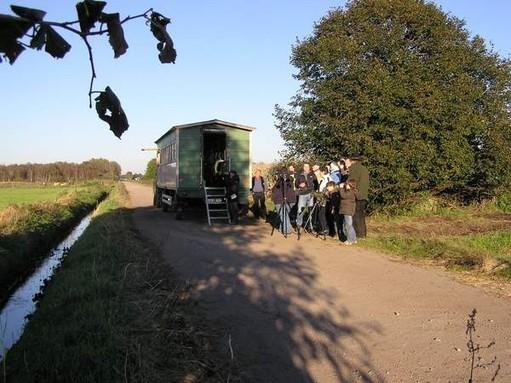 Mit speziellen Beobachtungswagen zu den besten Beobachtungsplätzen