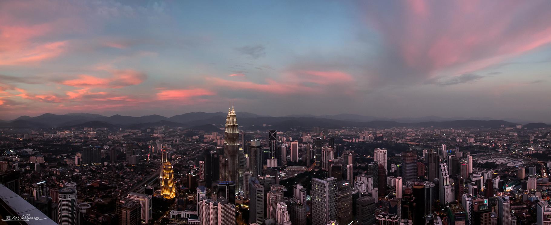 Kuala Lumpur Skyline - Kuala Lumpur, Malaysia