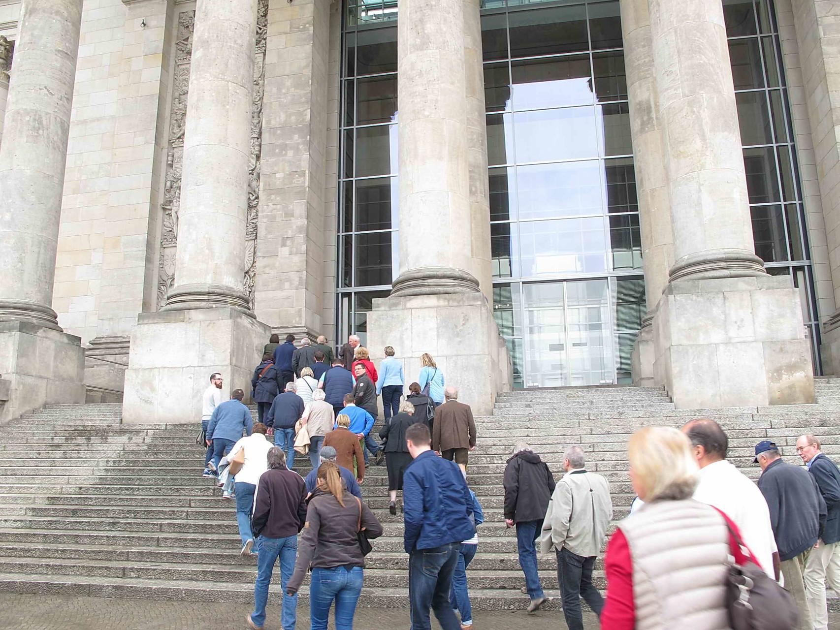 ... und dann zum Reichstag