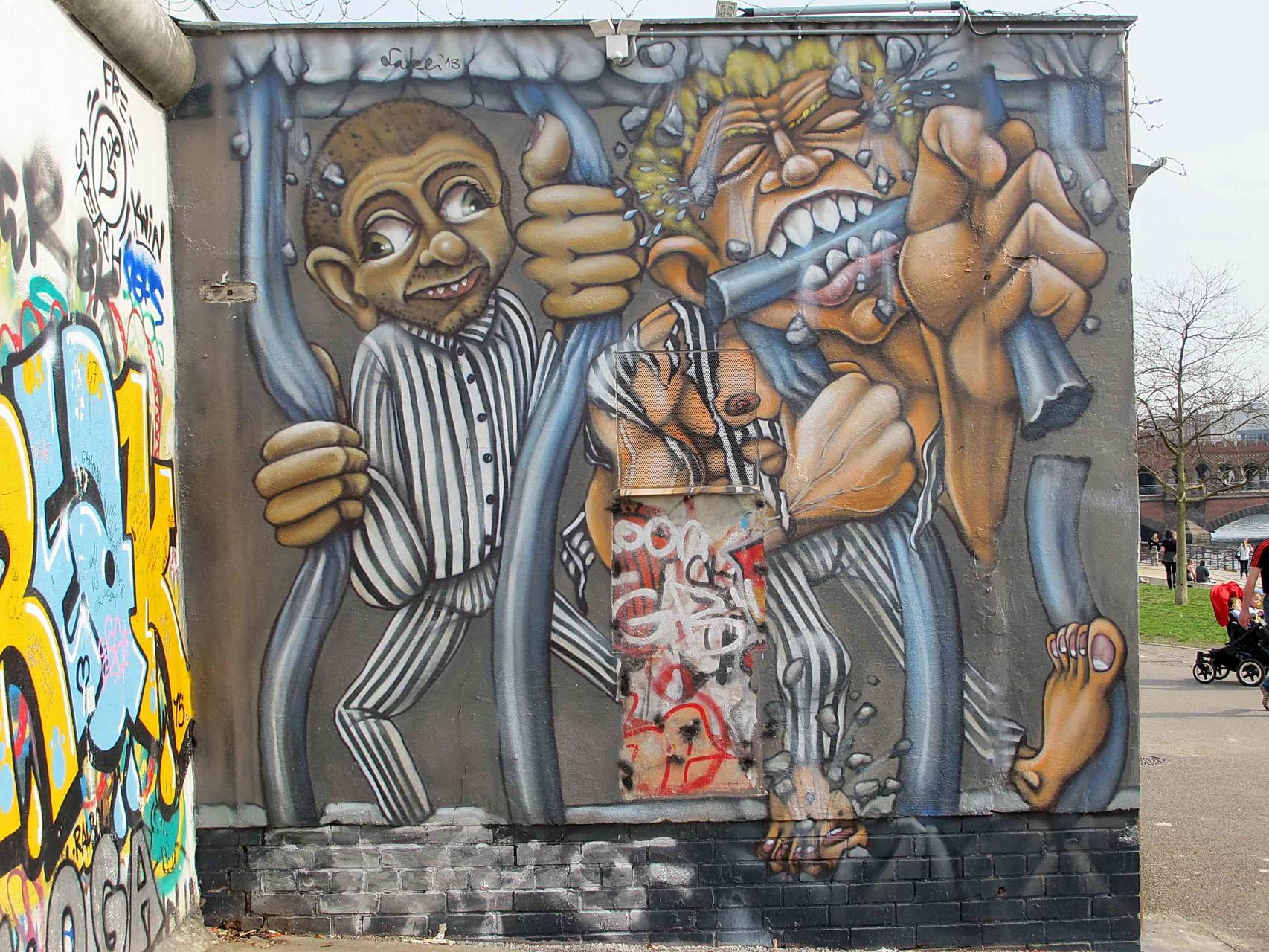 Mauer-Kunst ...