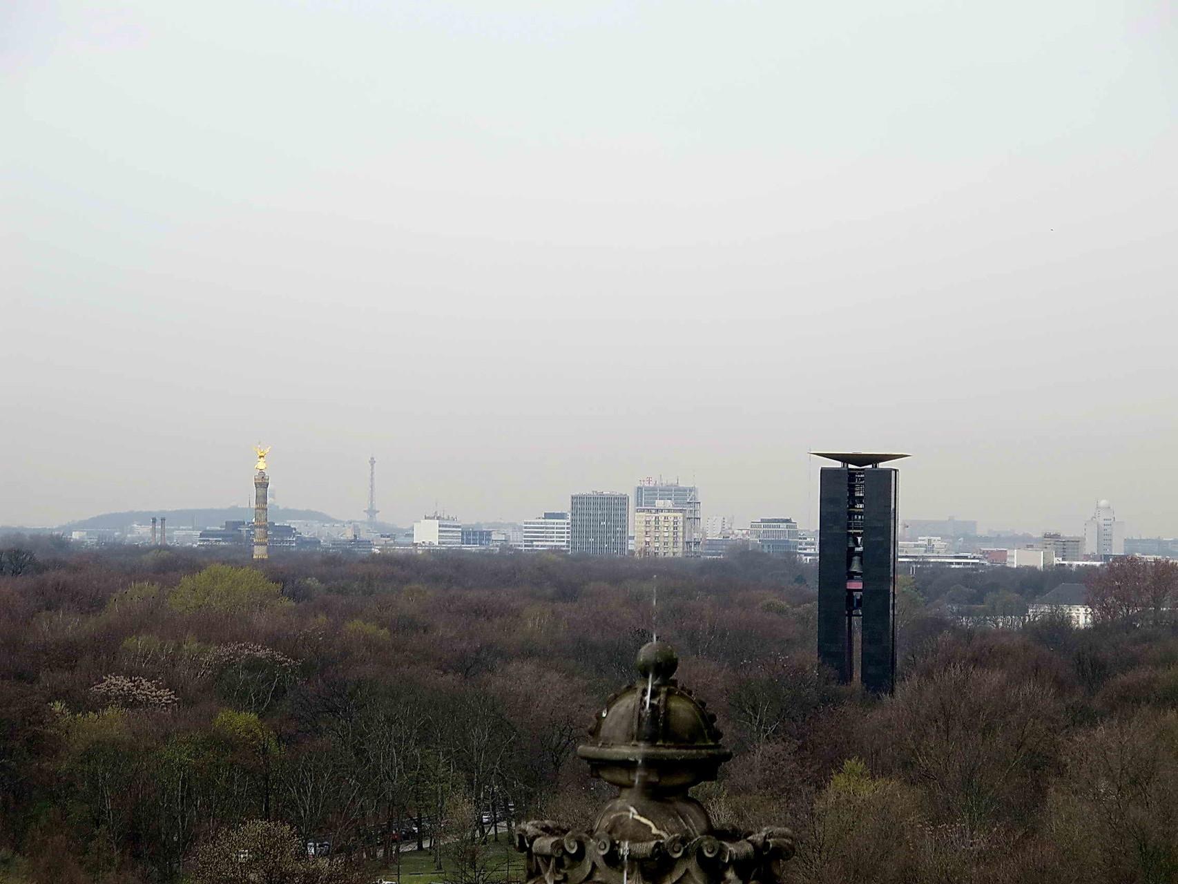 Blick vom Reichstag