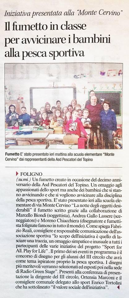 28 Febbraio 2018 - Il Corriere Dell'Umbria