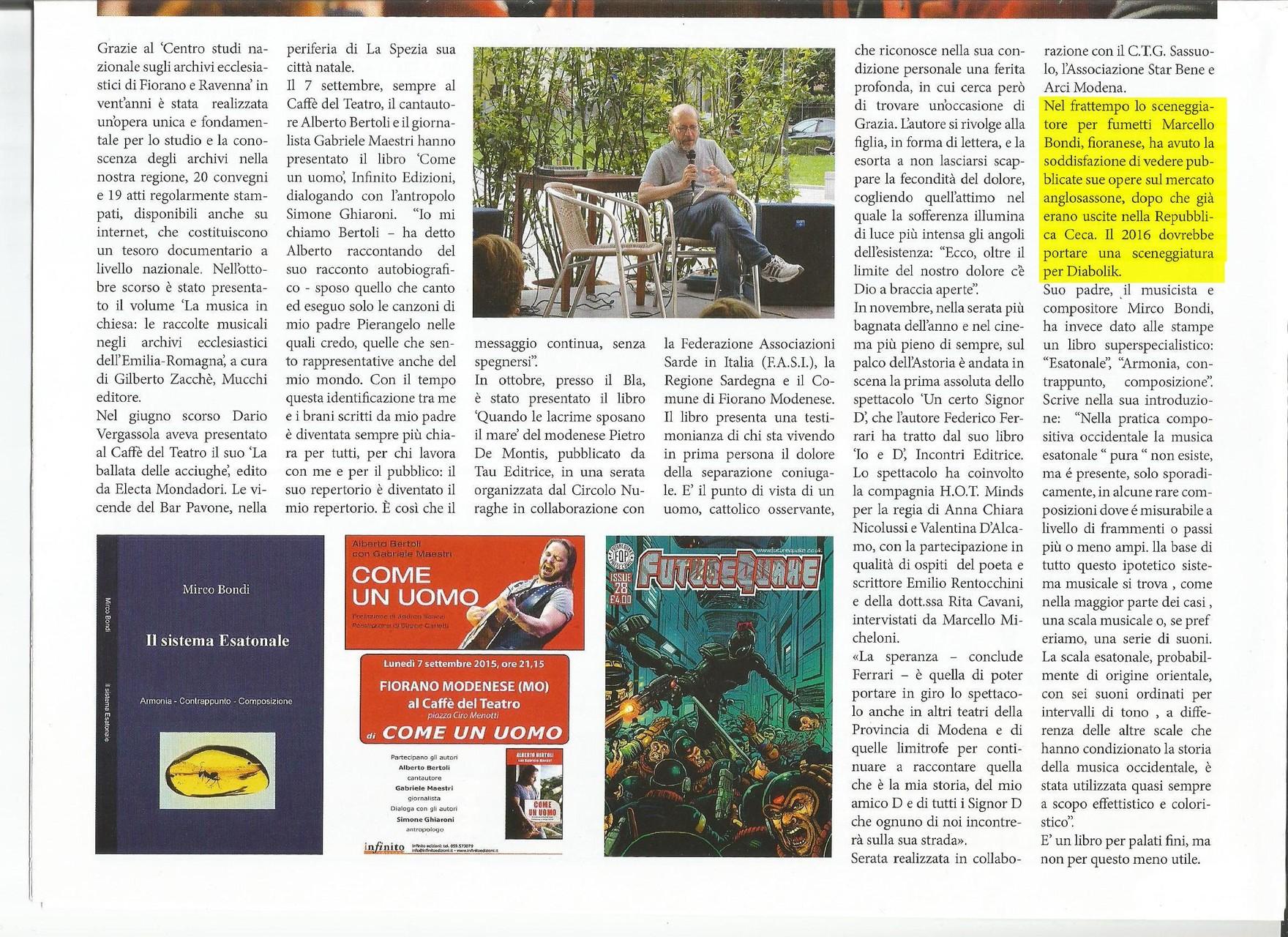 Dicembre 2015 - Giornalino Di Fiorano Modenese