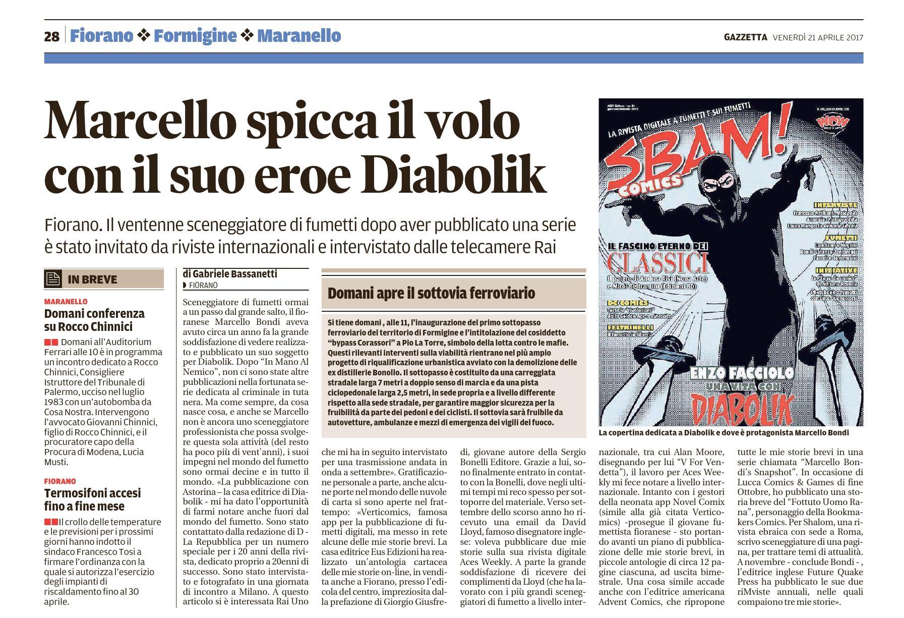 21 Aprile 2017 - Gazzetta Di Modena