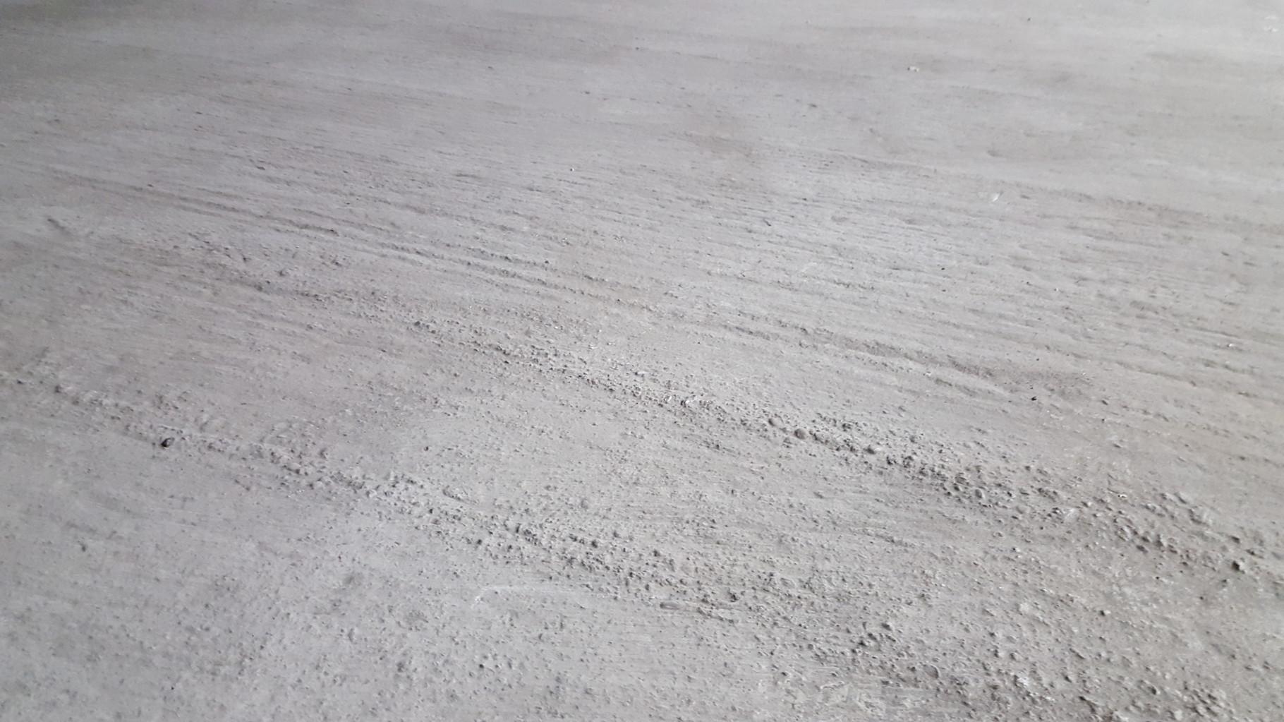 Bodenplatte unbehandelt