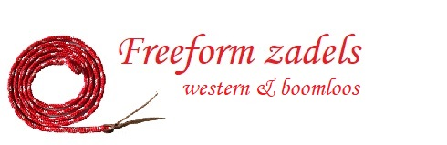 Freeform western zadels