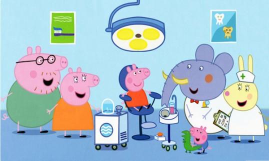 Peppa Pig dal dentista