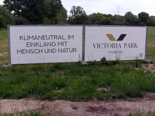 """Sollte der Slogan vom Planungsbür Jacob sein? """"Im Einklang mit Mensch und Natur"""" ?? Verbotene Bürgerini? KLage BUND? Zerstörung Biotope? Foto: privat"""
