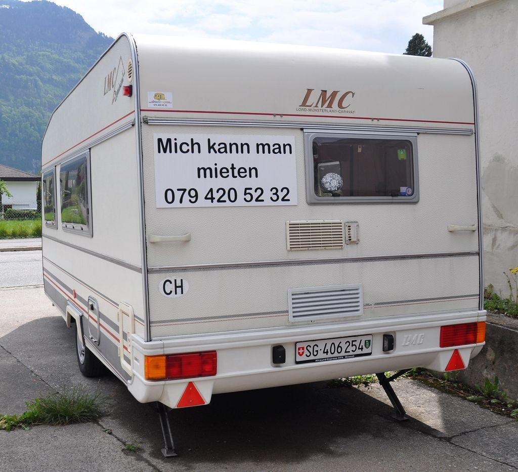 Mietwohnwagen LMC Dominant 490