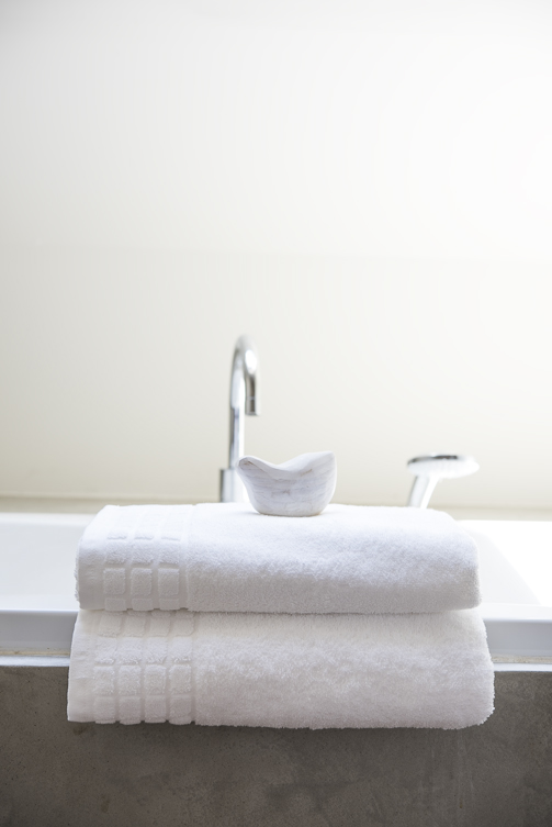 Frottierwäsche fürs Hotelbad