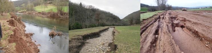 Dommages importants sur le parcellaire agricole