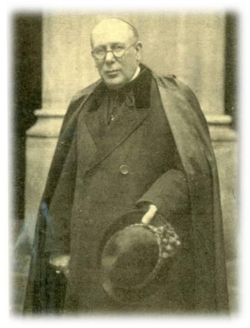 Mons. Eguino y Trecu, el Obispo en Santander en los primeros años de la fundación de la Cruzada Evángelica.
