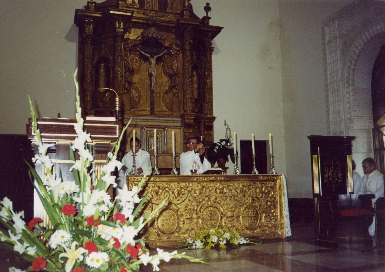 Capilla del Obispado de Alcalá de Henares el día de la Apertura del Proceso Diocesano
