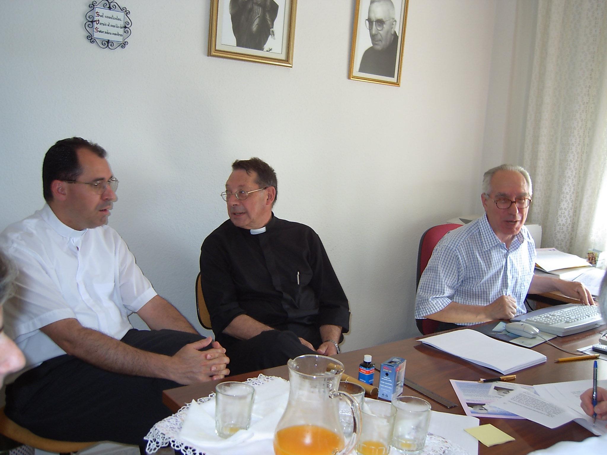 Delegado eclesiástico Rvdo. D. Arturo Lopéz Nuche