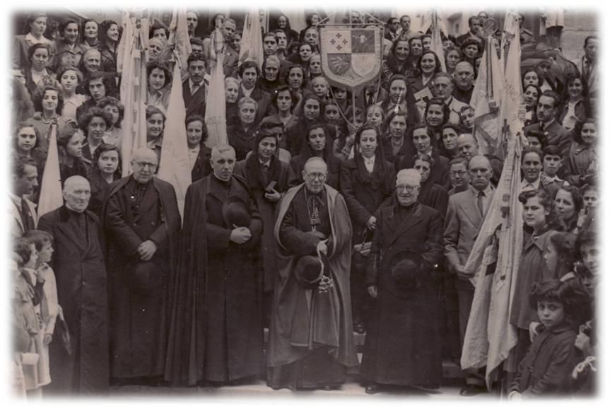 Elevación de la Cruzada Evangélica al Instituto Secular de derecho Diocesano. 1 DE MAYO DE 1951.
