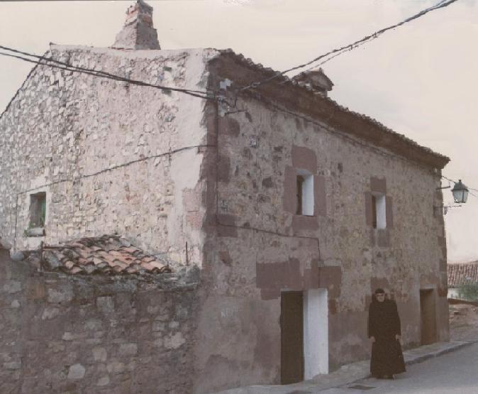 Casa de la familia Hernández Vera en Singüenza mientras el Siervo de Dios fue seminarista
