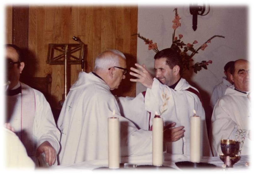 Fiesta de Elevación del Instituto Secular Cruzada Evangélica al derecho Pontificio el día 8 de diciembre de 1976.