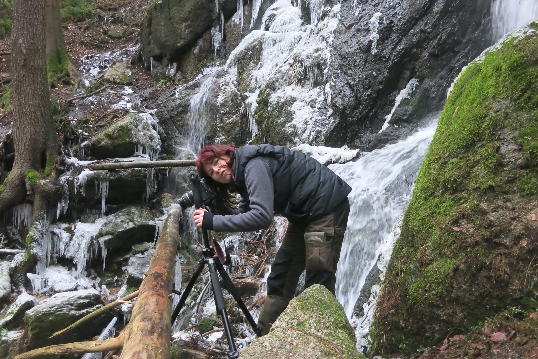 Erzgebirge, Am Blauenthaler Wasserfall