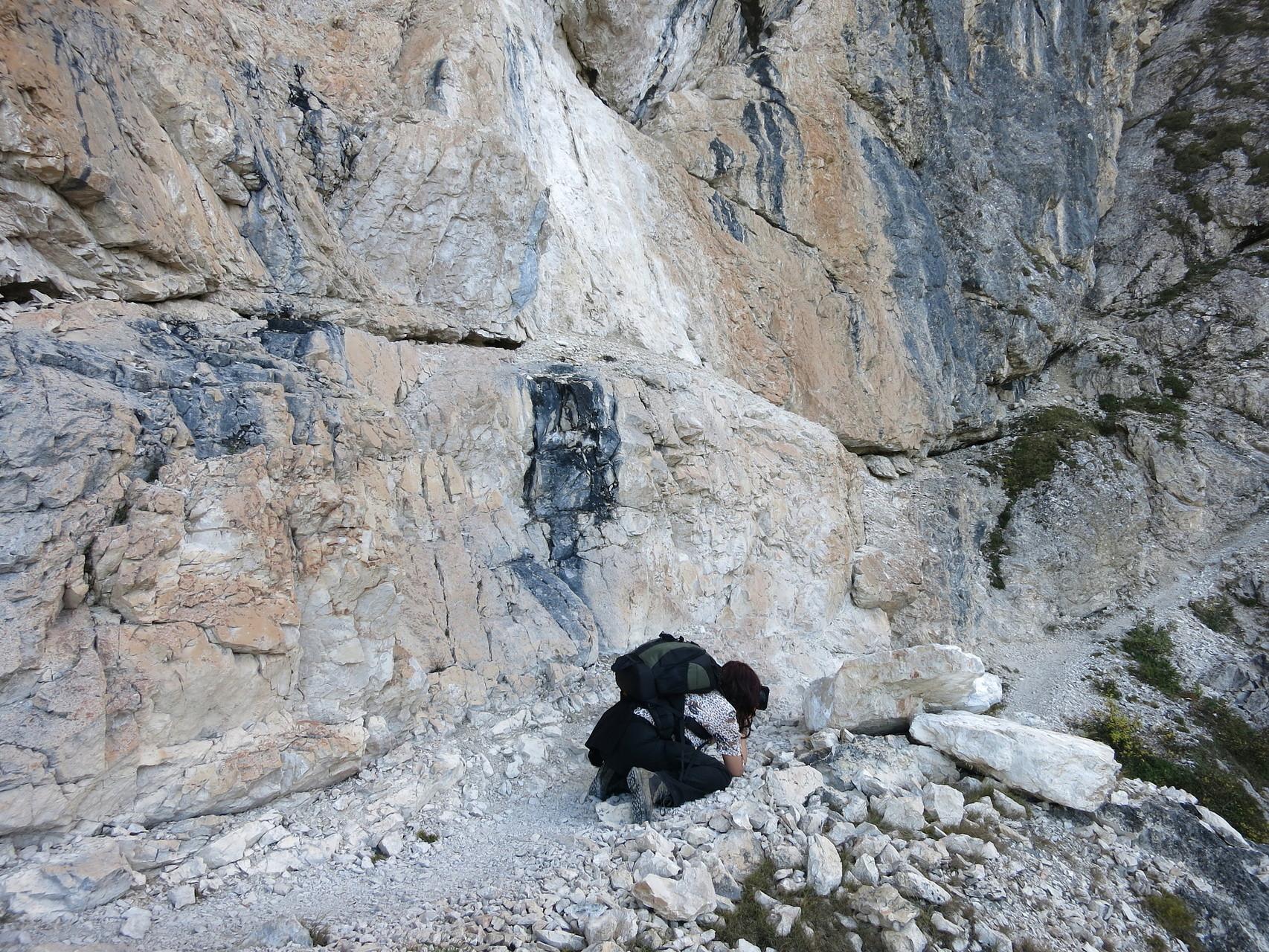 Italien; Dolomiten; Im Gebiet der Cinque torri