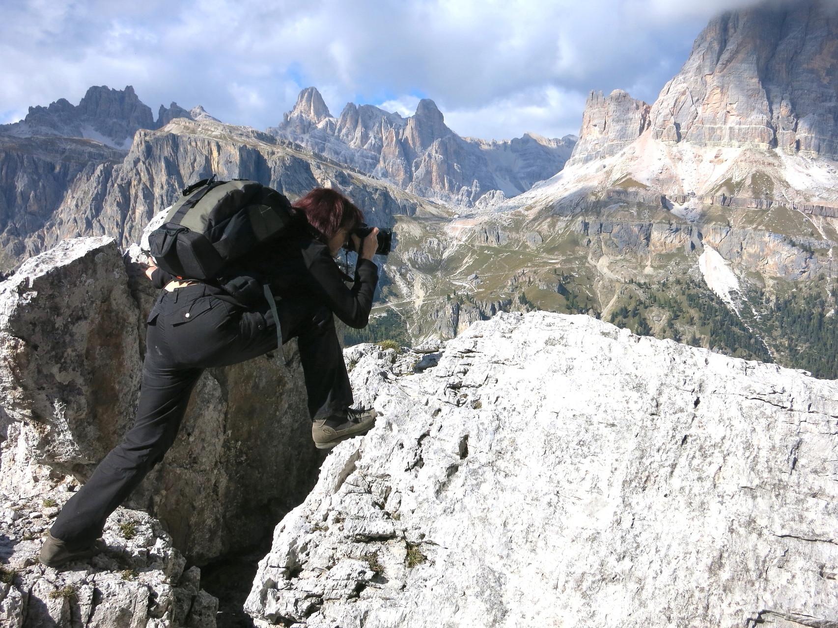 Italien; Dolomitenpanorama im Fokus