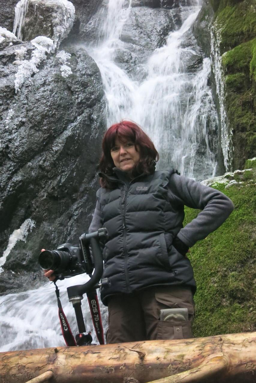 Erzgebirge, Am Blauenthaler Wasserfall (Foto: Werner Hack)