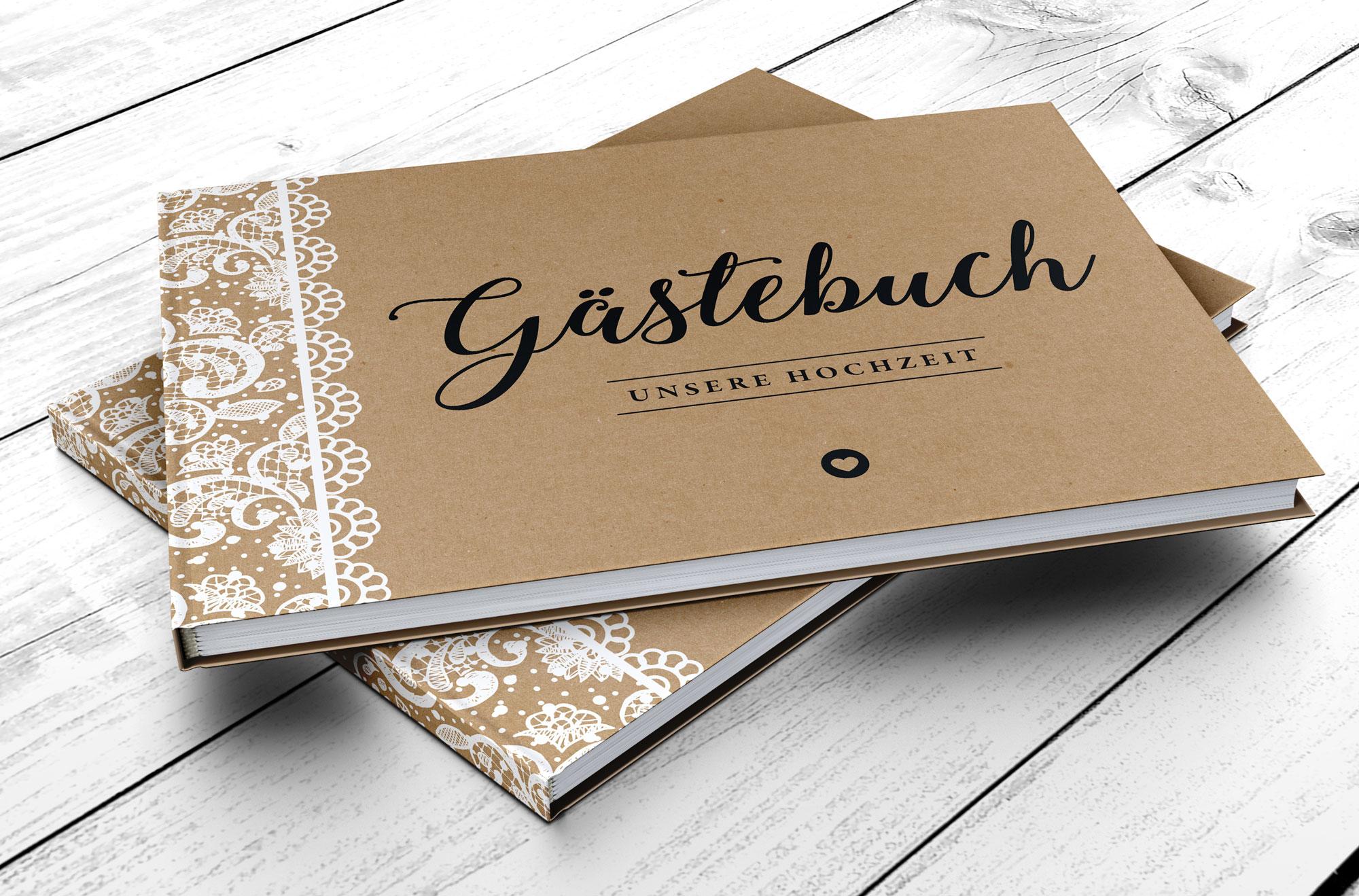Elegant Gästebuch Hochzeit Seite Gestalten Beste Wahl Gästebuch Mit Fragen - Vintage Spitzen