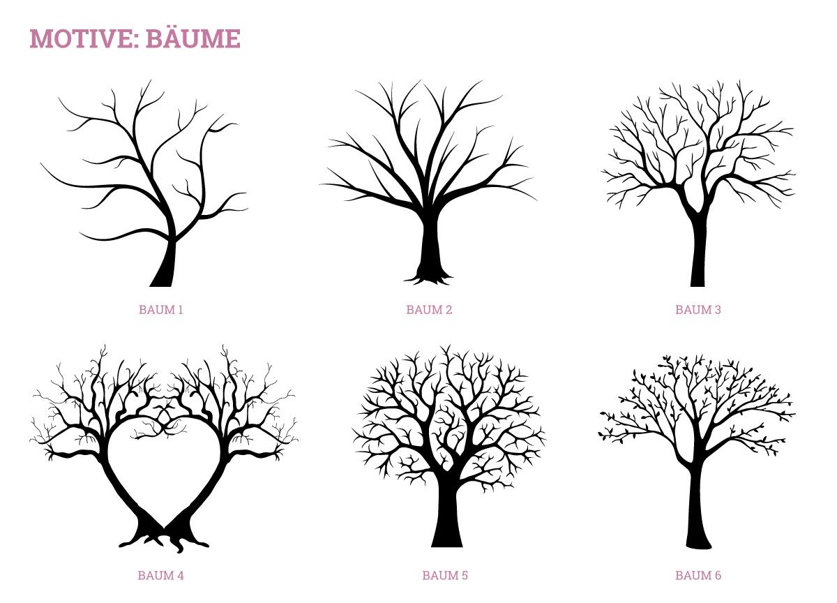 wedding tree classic wedding tree g stebuch individuell personalisiert. Black Bedroom Furniture Sets. Home Design Ideas