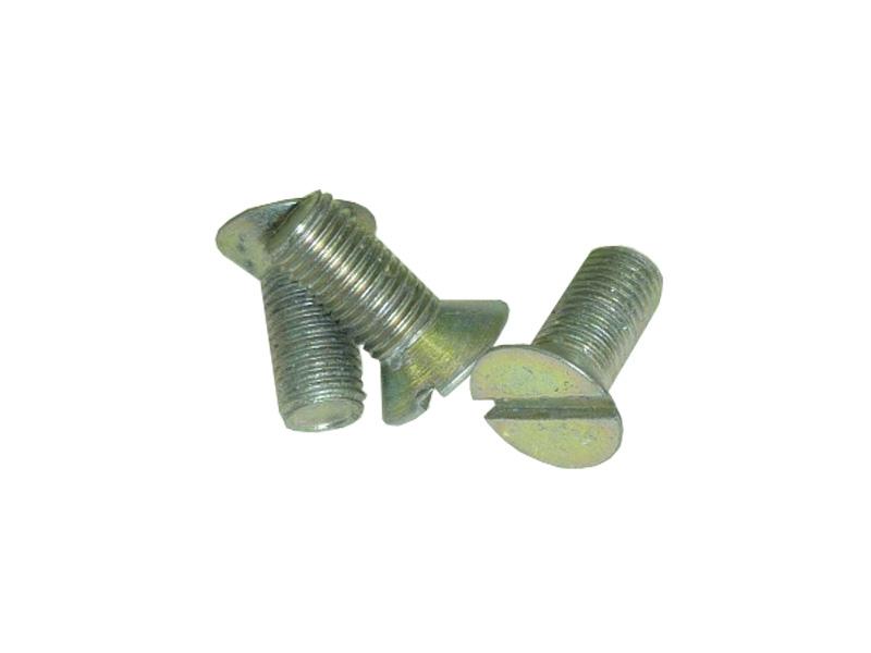 221691-П8 Senkschrauben mit Schlitz М8х18. Slotted countersunk head screws. Винт 1М8х18 крепления дверных петель к кузову.